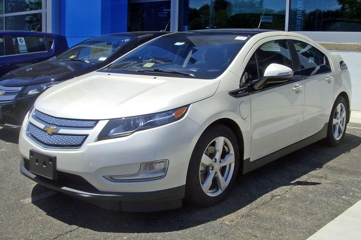 2012 Chevrolet Volt plug-in hybrid
