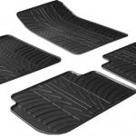 Jednostavno održavanje uz gumene tepihe za auto