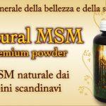 MSM bio jedan od najvažnijih minerala