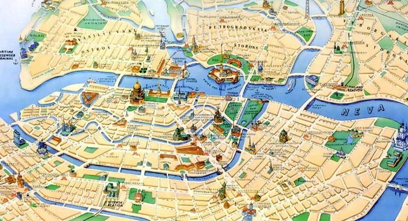 Sankt Petersburg gradski vodič